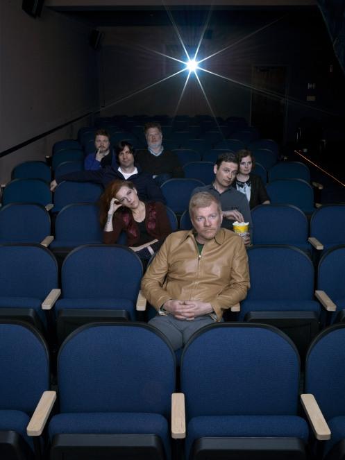 The New Pornographers Cinema shot